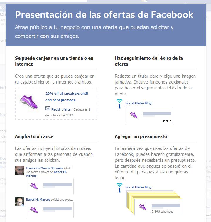 c mo funcionan las nuevas ofertas de facebook